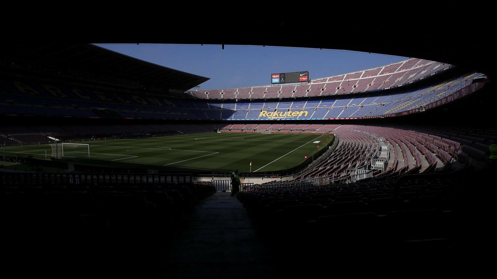 El Camp Nou viurà dissabte un partit clau contra l'Eibar.