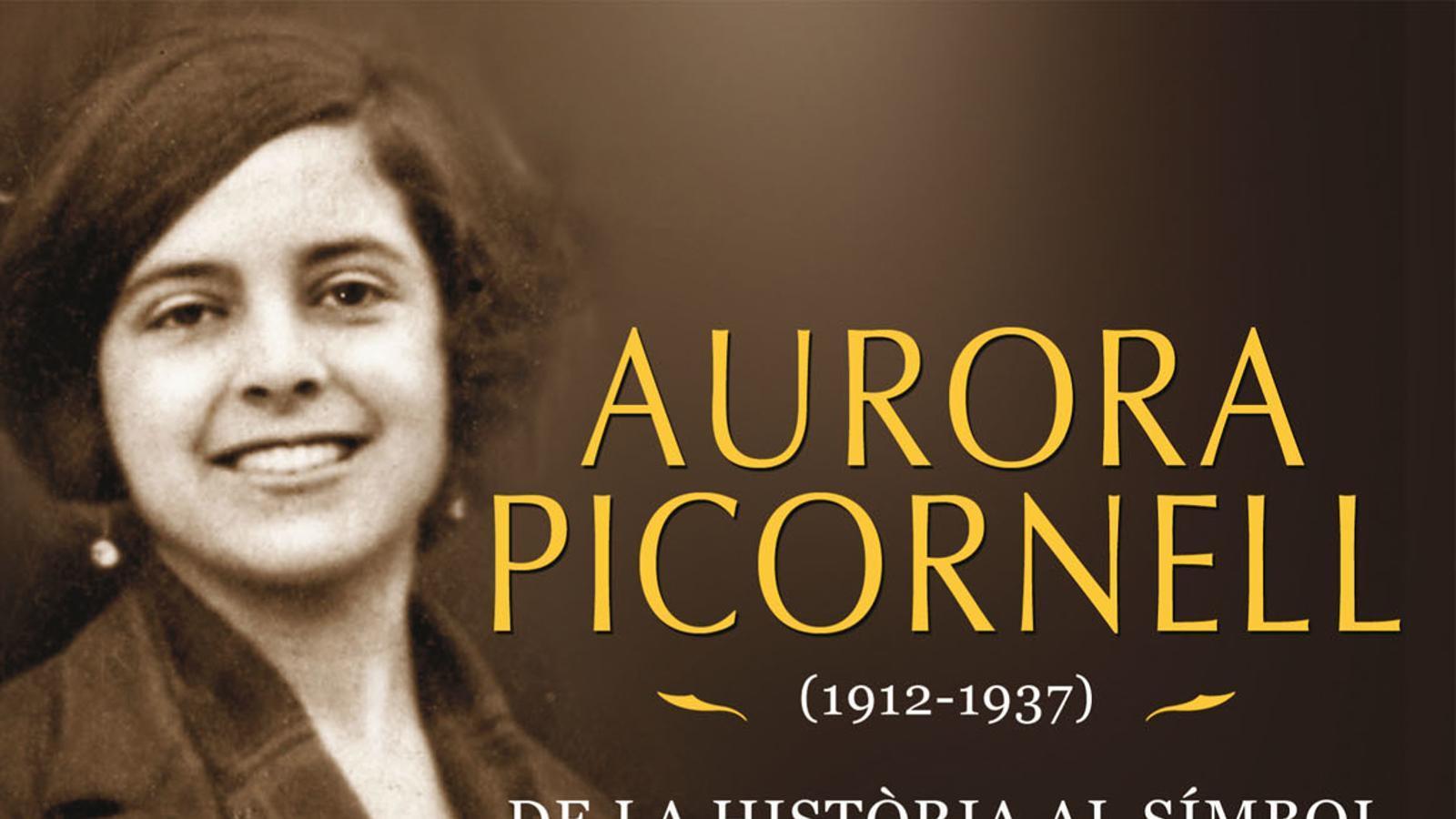 Portada del llibre 'Aurora Picornell de la història al símbol' de David Ginard