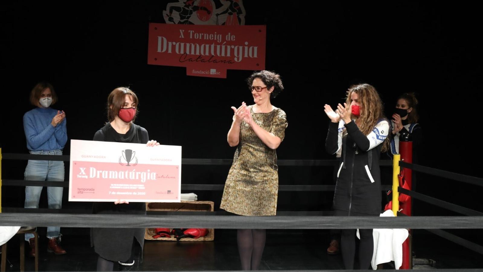 La guanyadora del Torneig de Dramatúrgia, Mar Monegal.