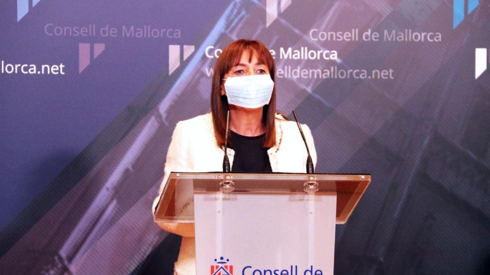 La portaveu de Ciutadans Margalida Roig