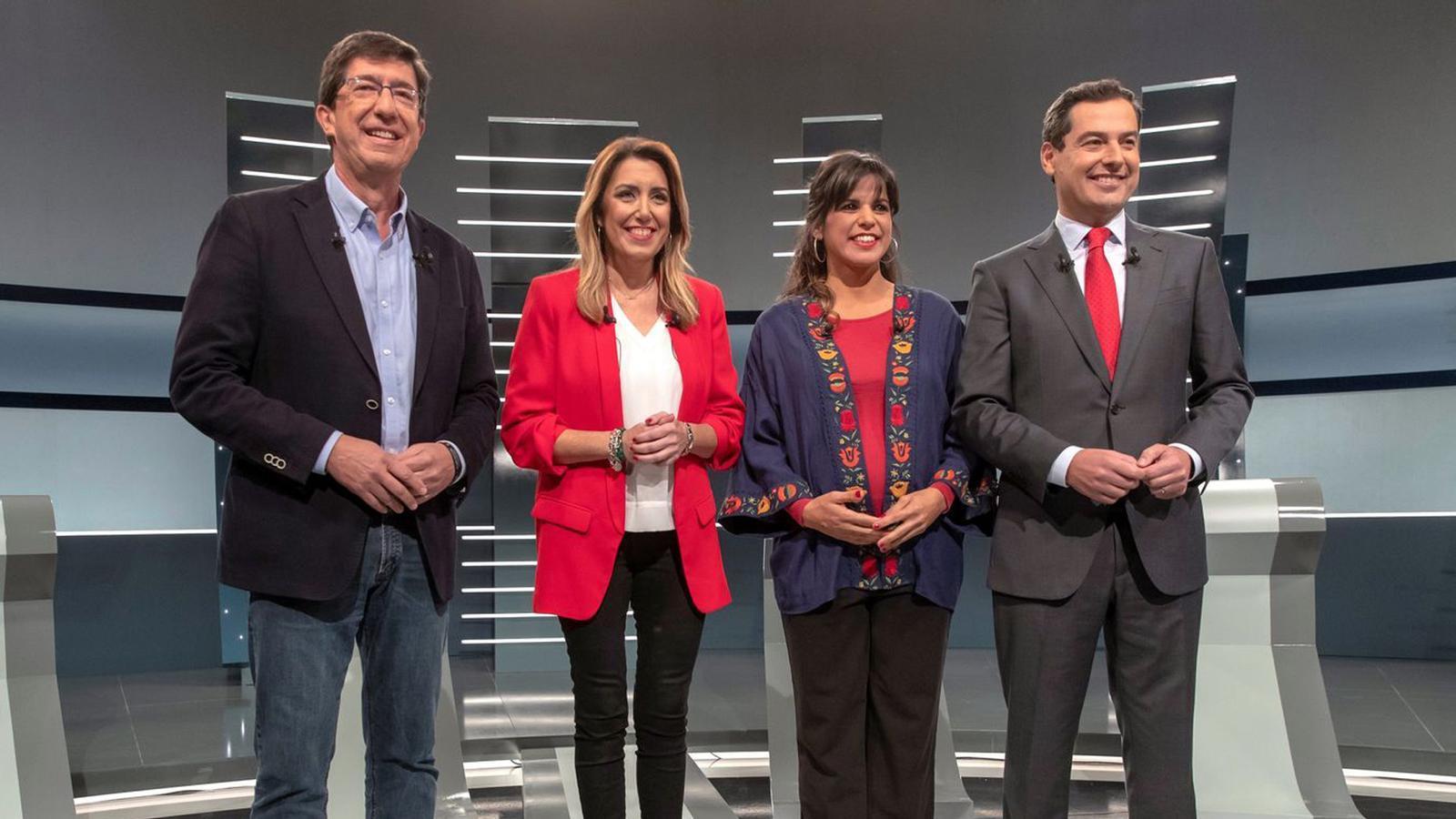 """""""Sembla que es presentin a Catalunya"""": les 10 frases sobre el Procés del debat andalús"""