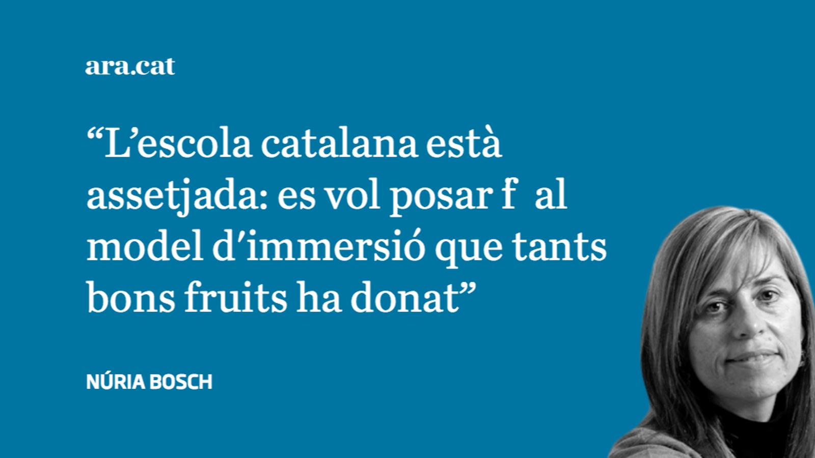 Protegir i millorar l'escola catalana