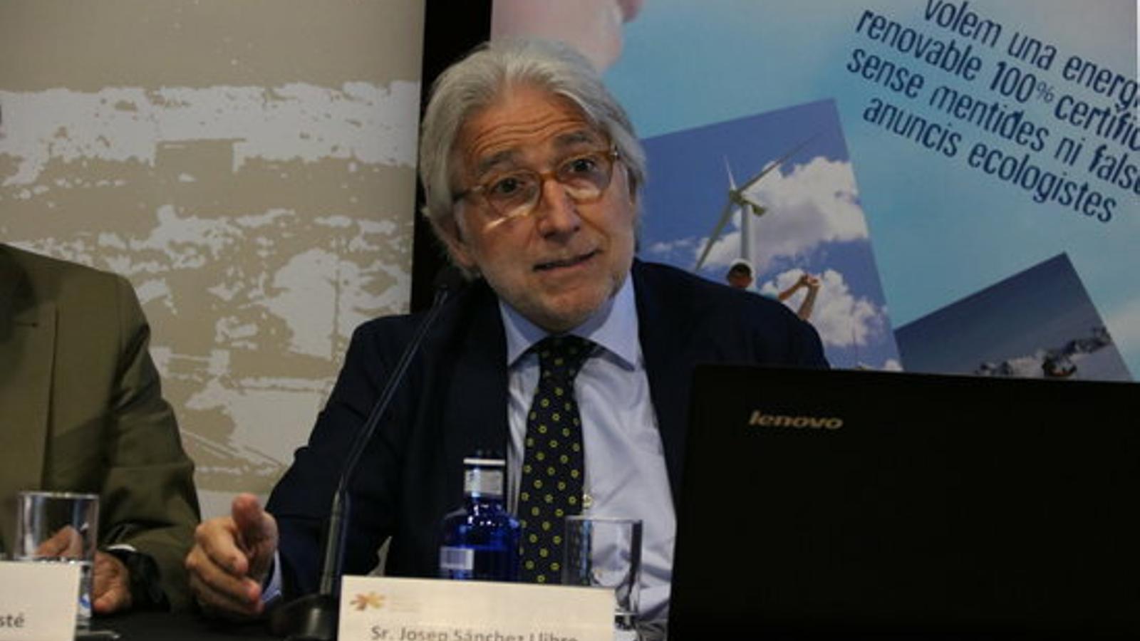 El president de Foment, Dani Sánchez Llibre.