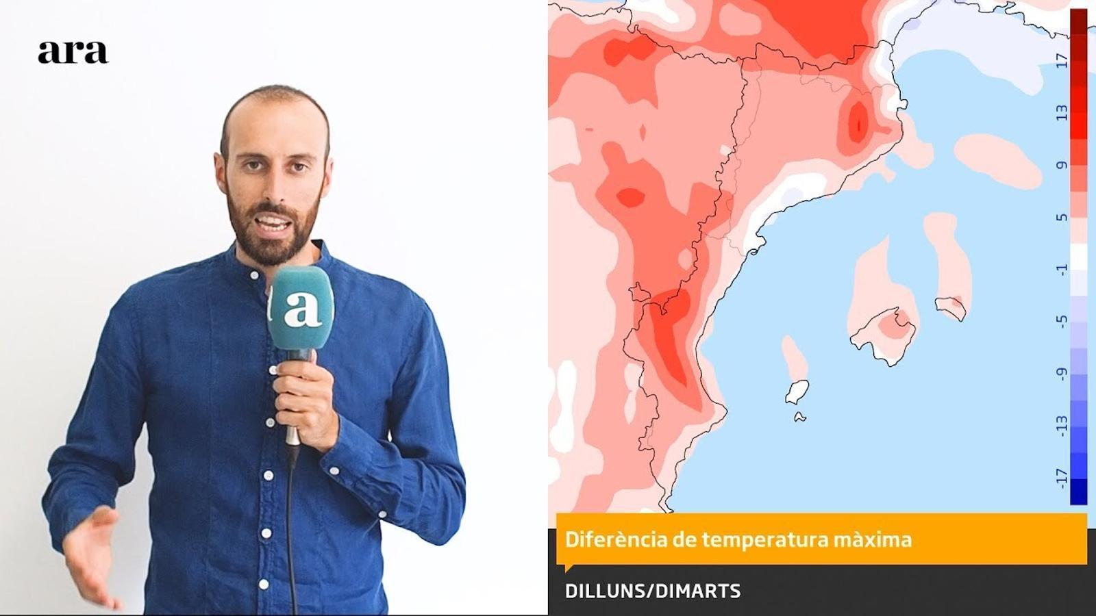 La méteo: L'ambient més fresc té les hores comptades