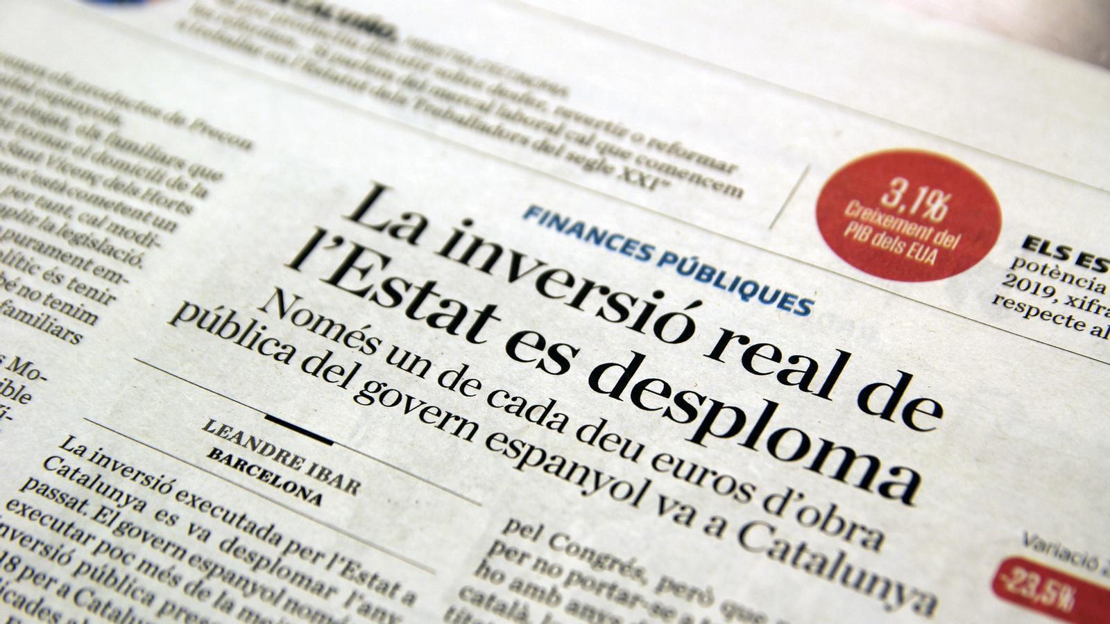 L'anàlisi d'Antoni Bassas: 'Cercle d'Economia, mal dia per parlar'