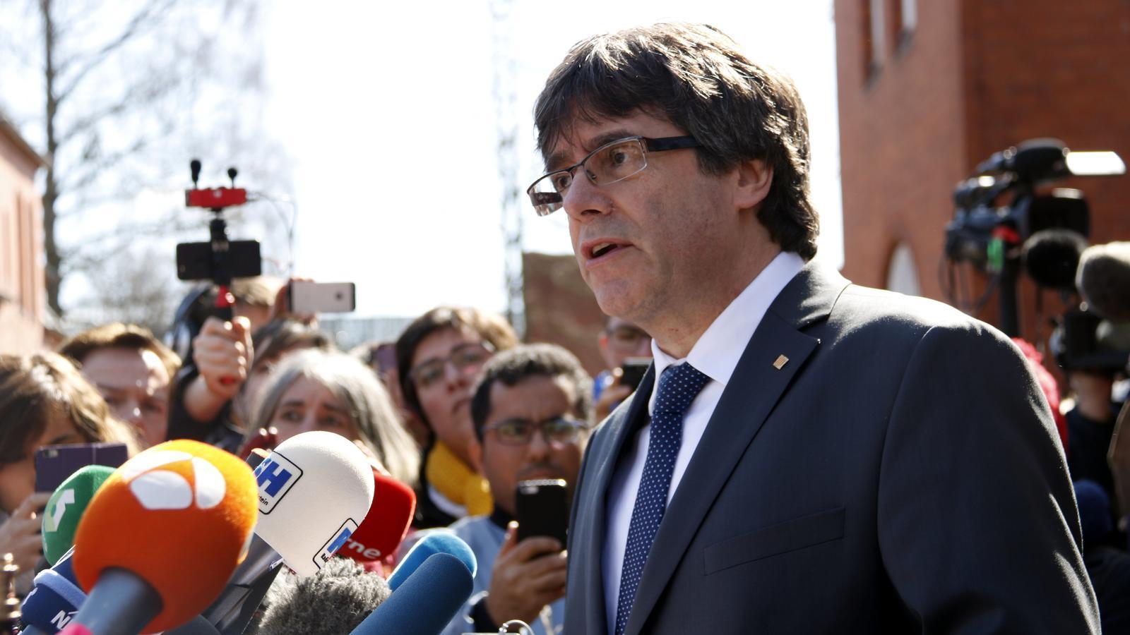 La justícia alemanya decideix extradir Puigdemont per malversació