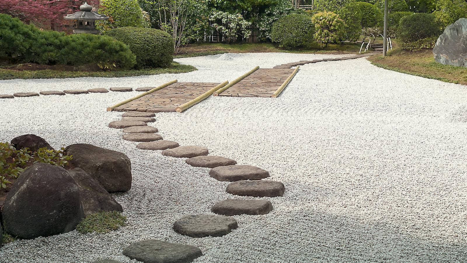 Resultat d'imatges de jardi zen