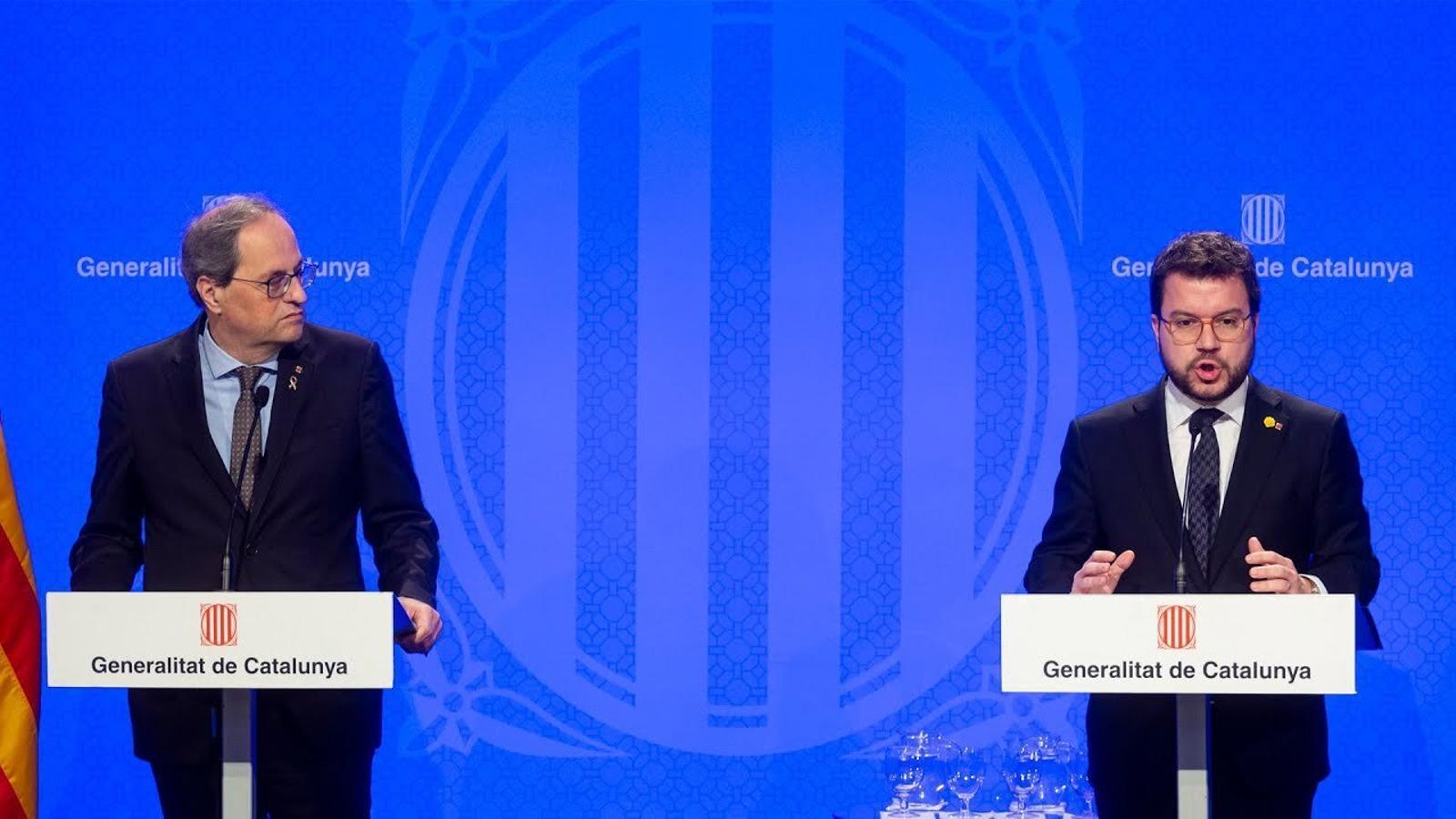 L'anàlisi d'Antoni Bassas: 'Un govern, dos camins cap a la independència'
