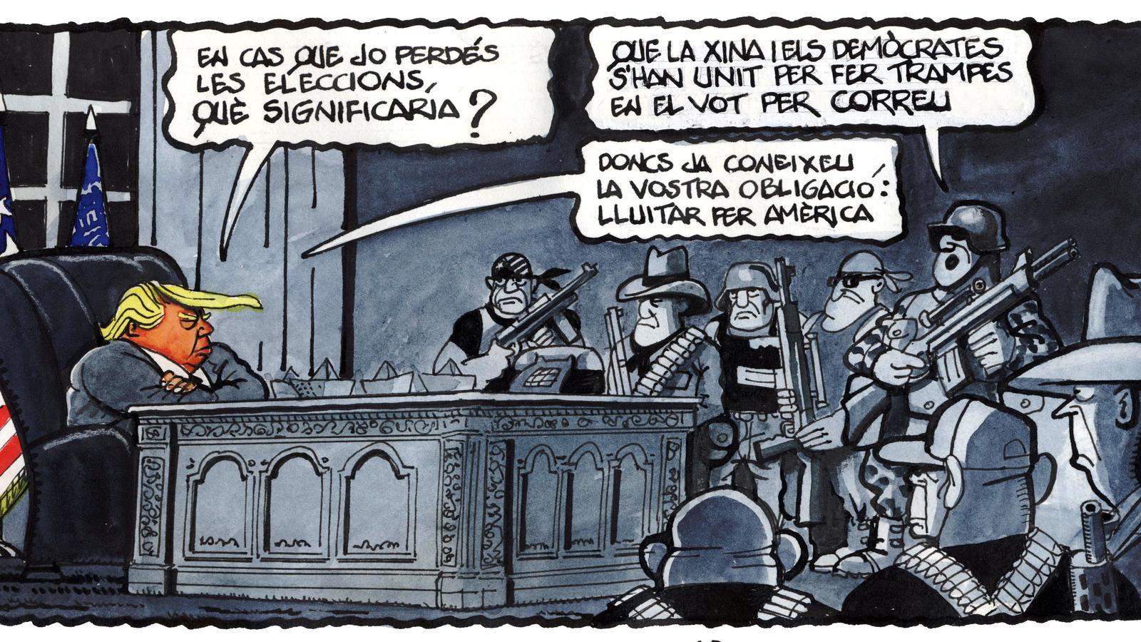 'A la contra', per Ferreres 18/10/2020