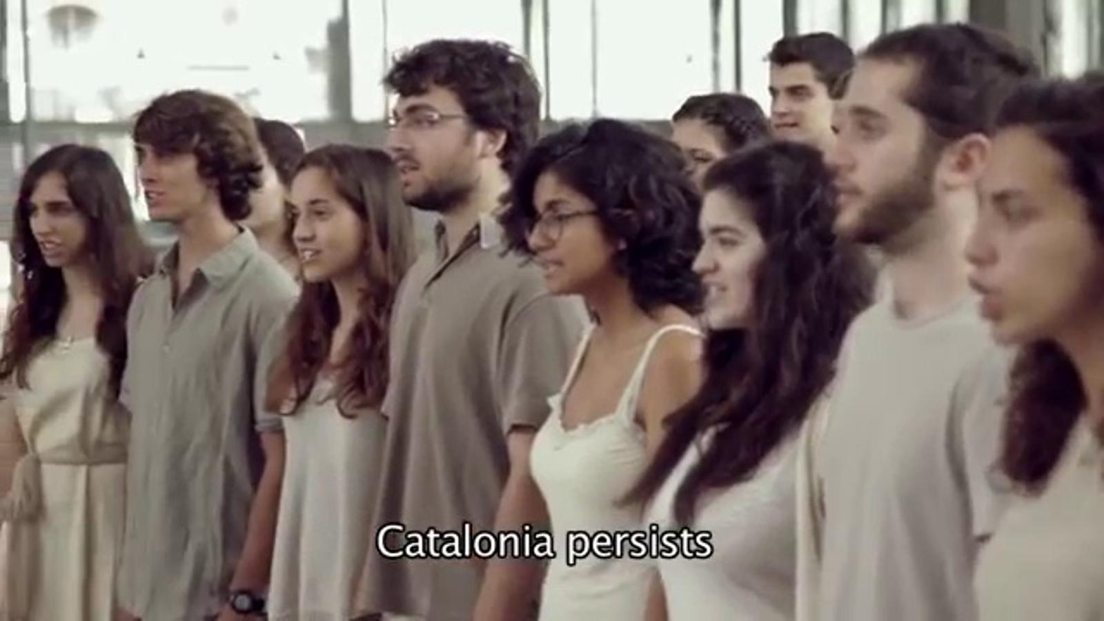 'Saule, Perkons, Daugava' interpretada pel Cor Jove de l'Orfeó Català