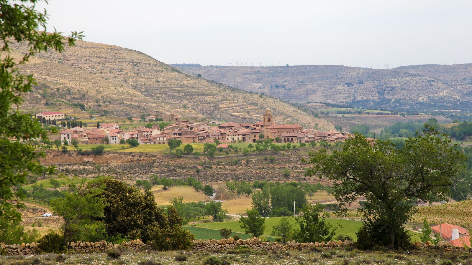 Imatge d'un dels pobles aragonesos en què podria transcórrer 'Un hipster en la España vacía'