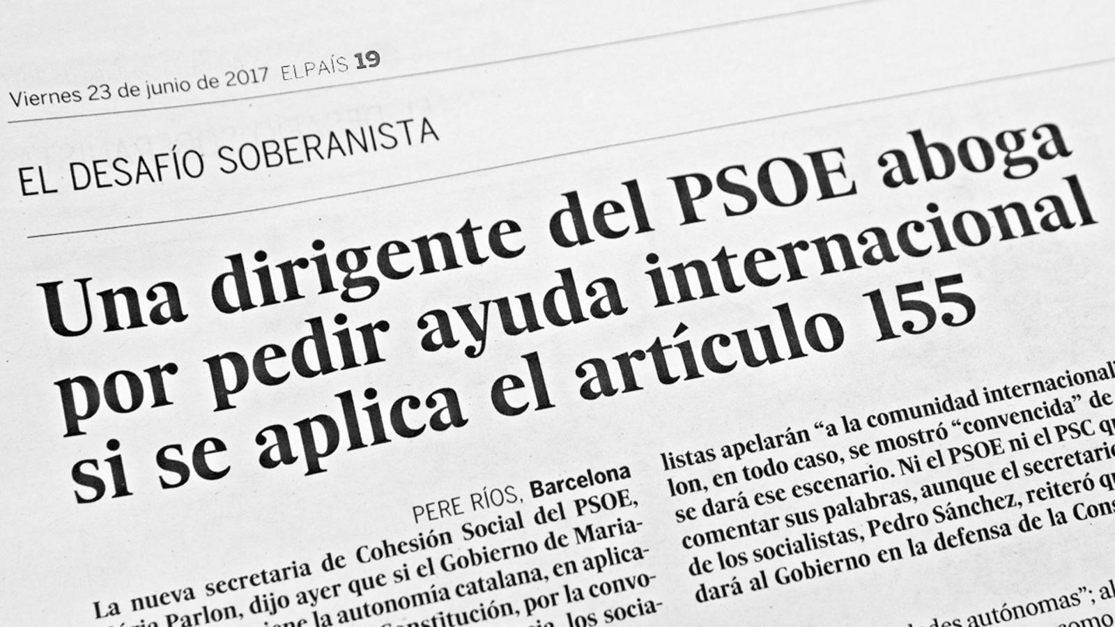 L'anàlisi d'Antoni Bassas: 'Parlon i apel·lar a la comunitat internacional'