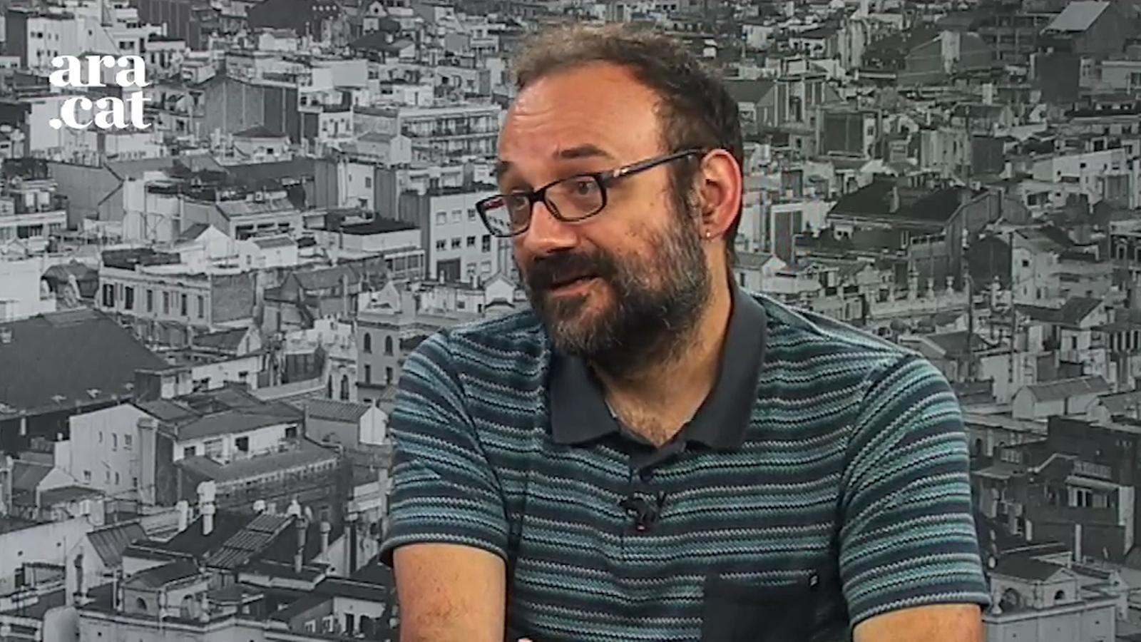 """Benet Salellas: """"Si cal, algú de la CUP firmarà la compra de les urnes"""""""