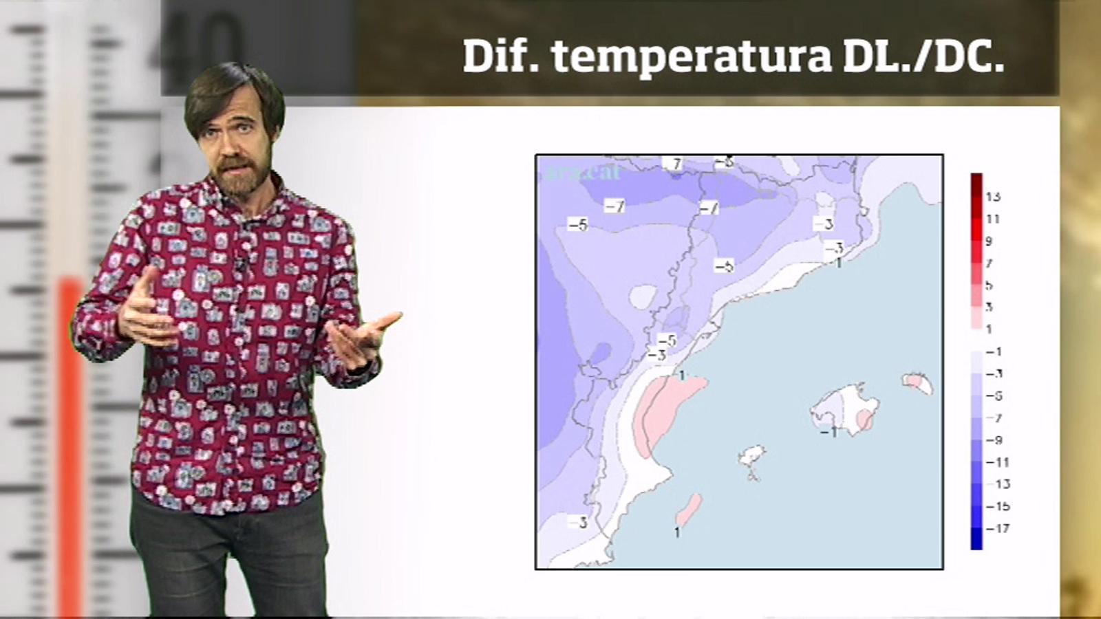 La méteo en 1 minut: inici de primavera fred i amb alguns ruixats