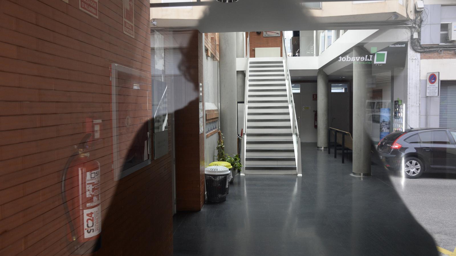 Interior de l'Aula de teatre de Lleida