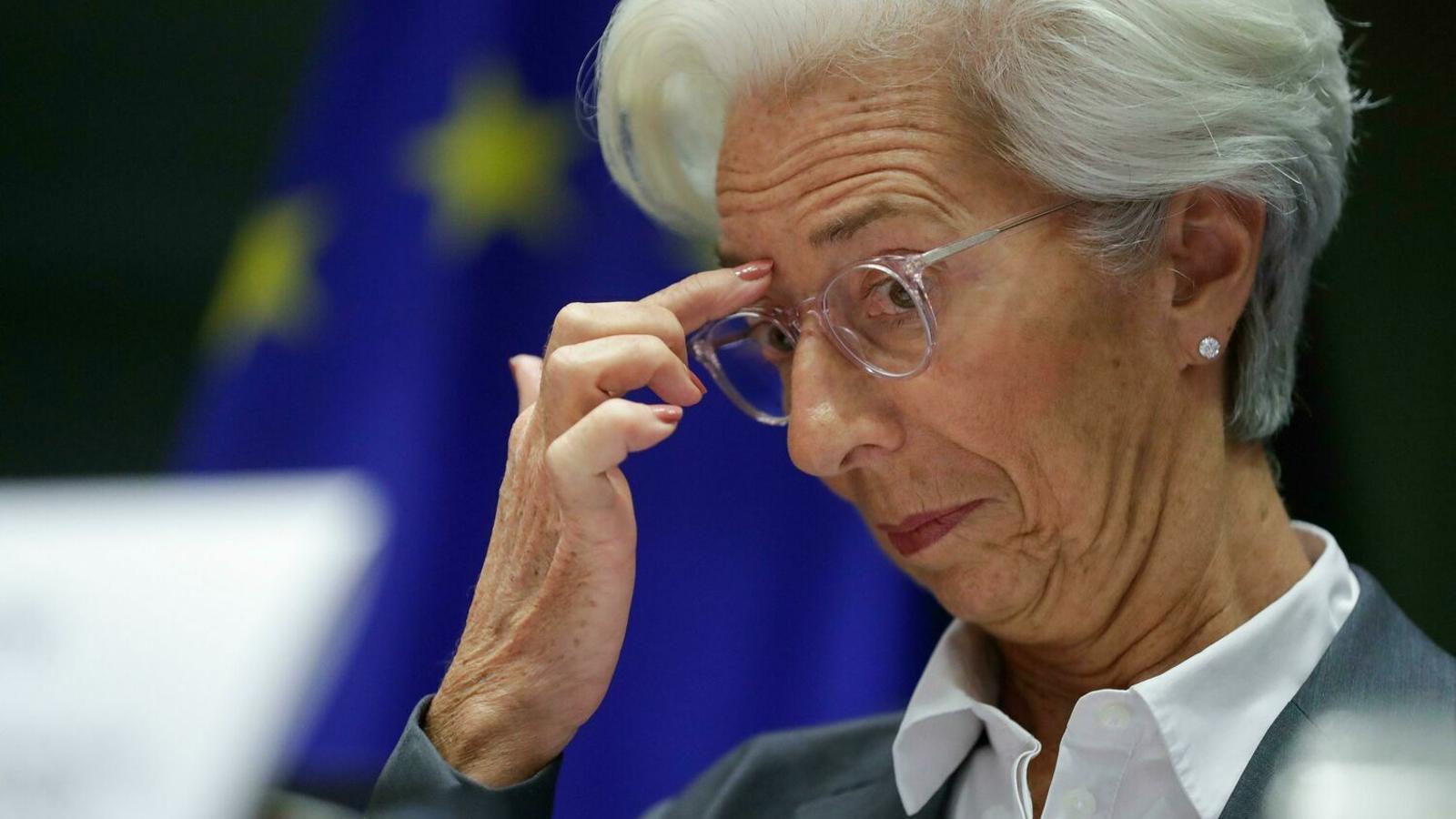 Christine Lagarde, presidenta del BCE, en una imatge d'arxiu.
