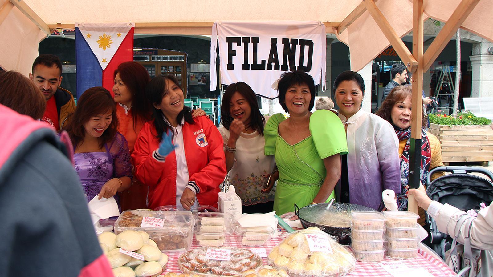 Una de les paradetes participants en la mostra gastronòmica. / M. M. (ANA)