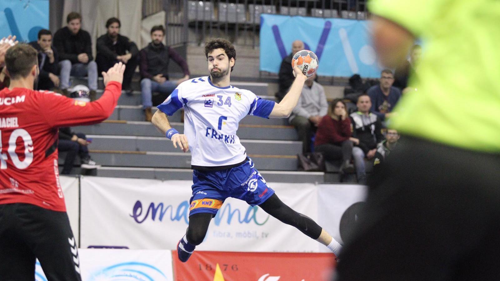 El Fraikin Granollers cau a casa en el seu debut europeu i haurà de remuntar a Eslovènia (24-25)