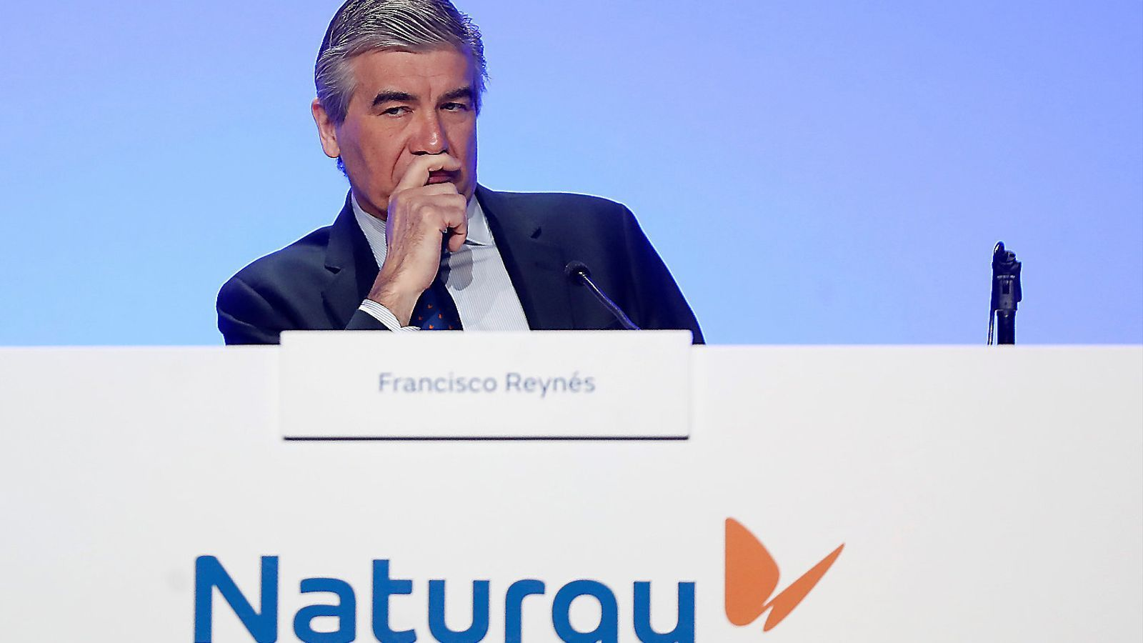 El president executiu de Naturgy, Francisco Reynés, en una imatge d'arxiu.