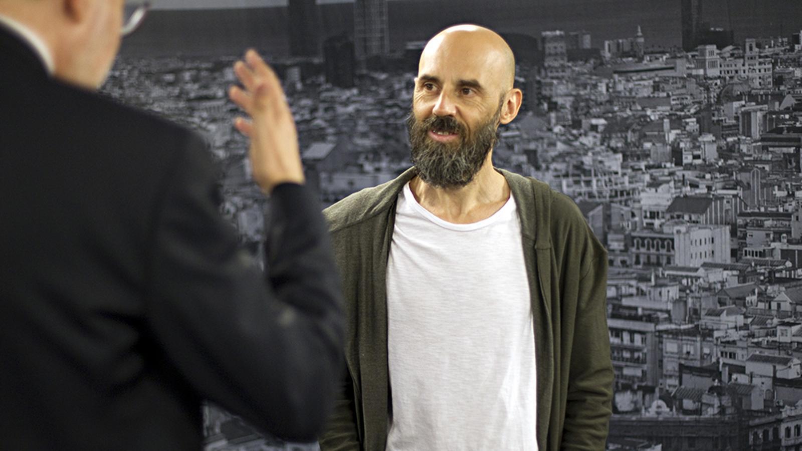 Entrevista d'Antoni Bassas a Jordi Parramon