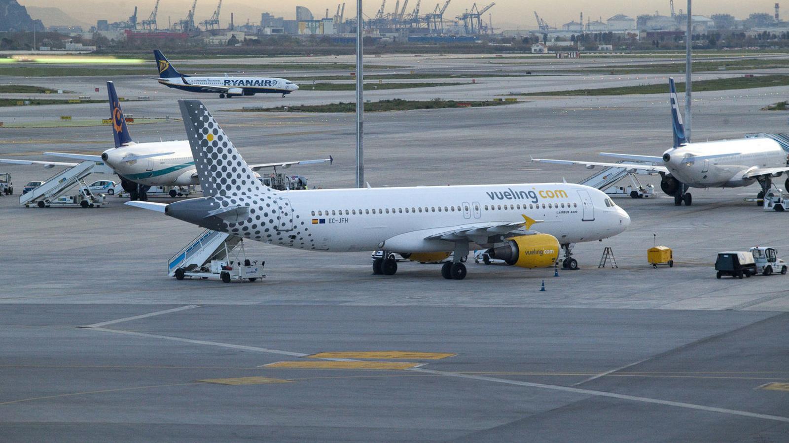 Vueling cancel·la 92 vols aquest cap de setmana per la vaga d'Iberia al Prat
