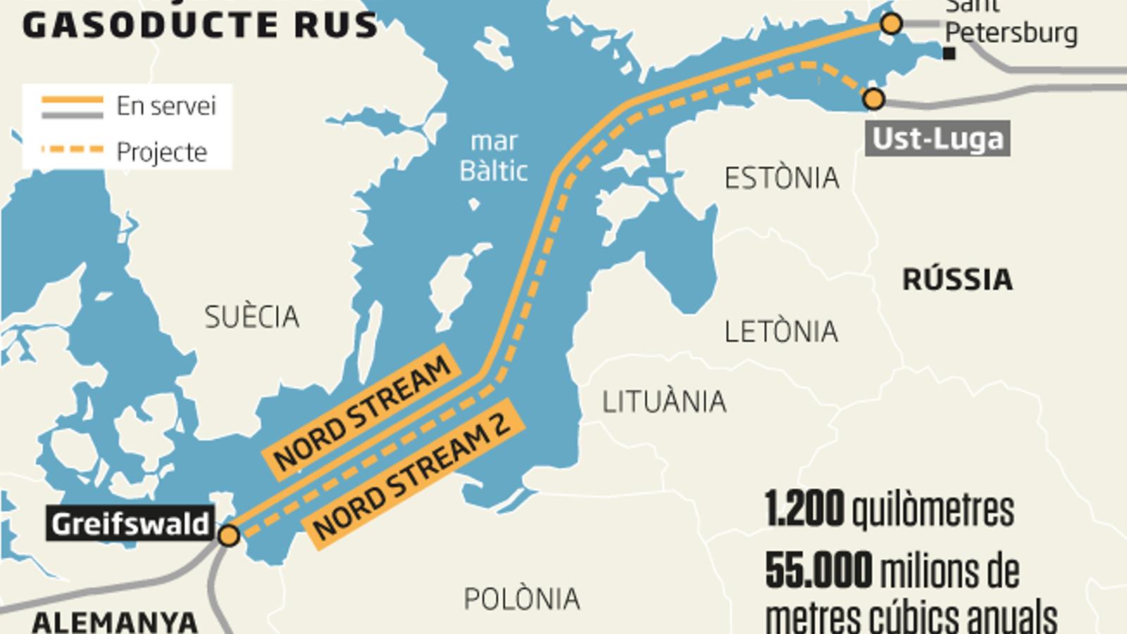 Alemanya, lligada de mans i peus per Rússia en el cas Navalni