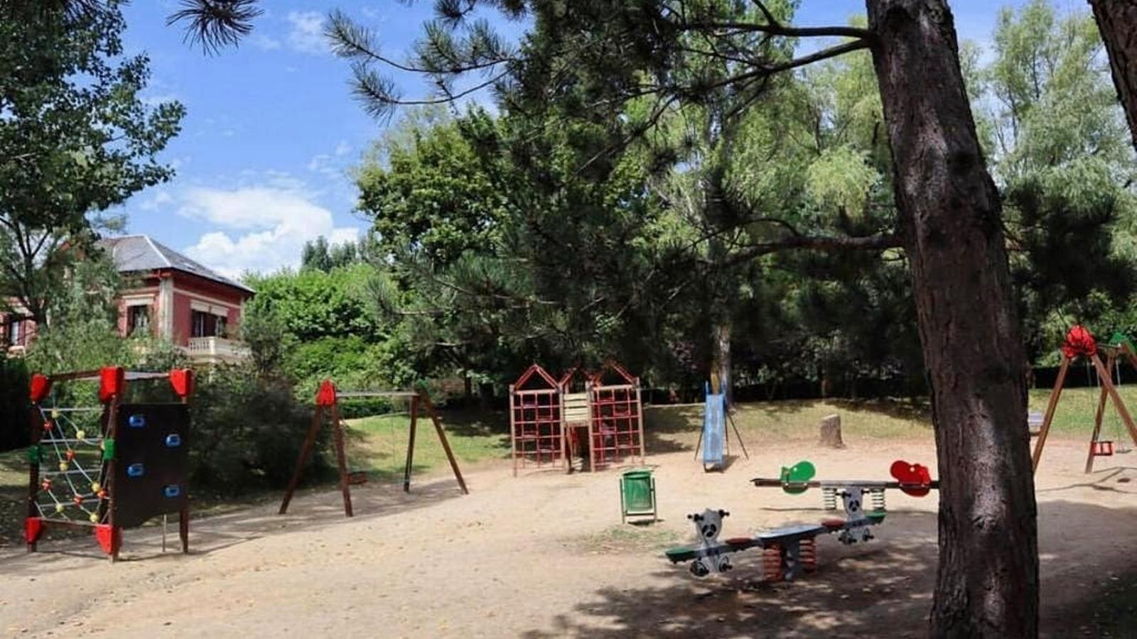 Un parc infantil de Puigcerdà. / AJUNTAMENT DE PUIGCERDÀ