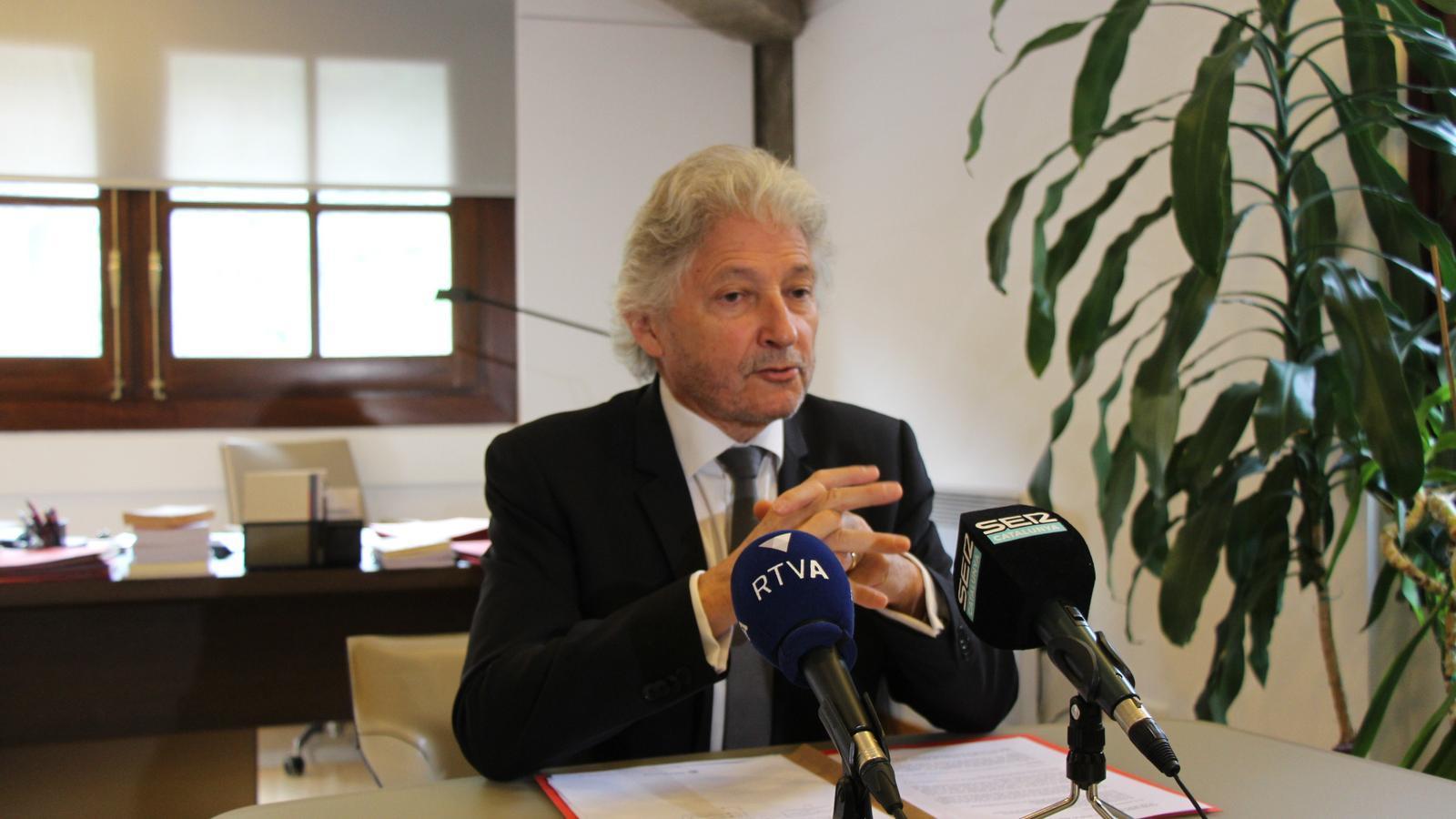 Dominique Rousseau, president del Tribunal Constitucional. / M. R. F.