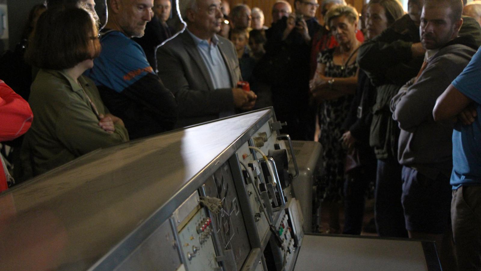 Visita a les instal·lacions de Sud Ràdio en el marc del 80è aniversari de la radiodifusió a Andorra. / T. N. (ANA)