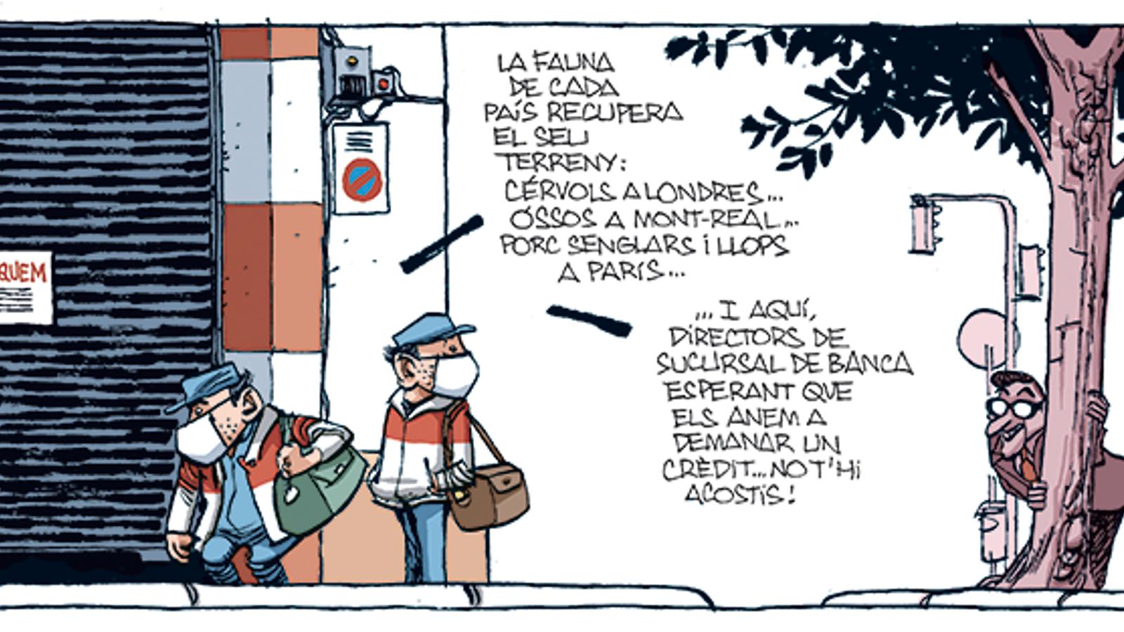 'A la contra', per Manel Fontdevila