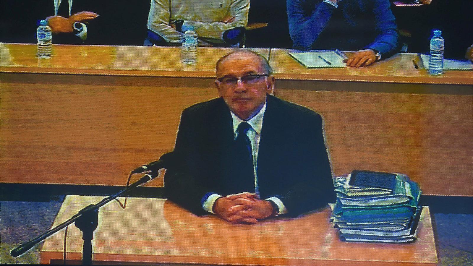 """Rato, al judici de Bankia: """"Totes les decisions van ser contrastades amb el Banc d'Espanya. Demano l'absolució"""""""