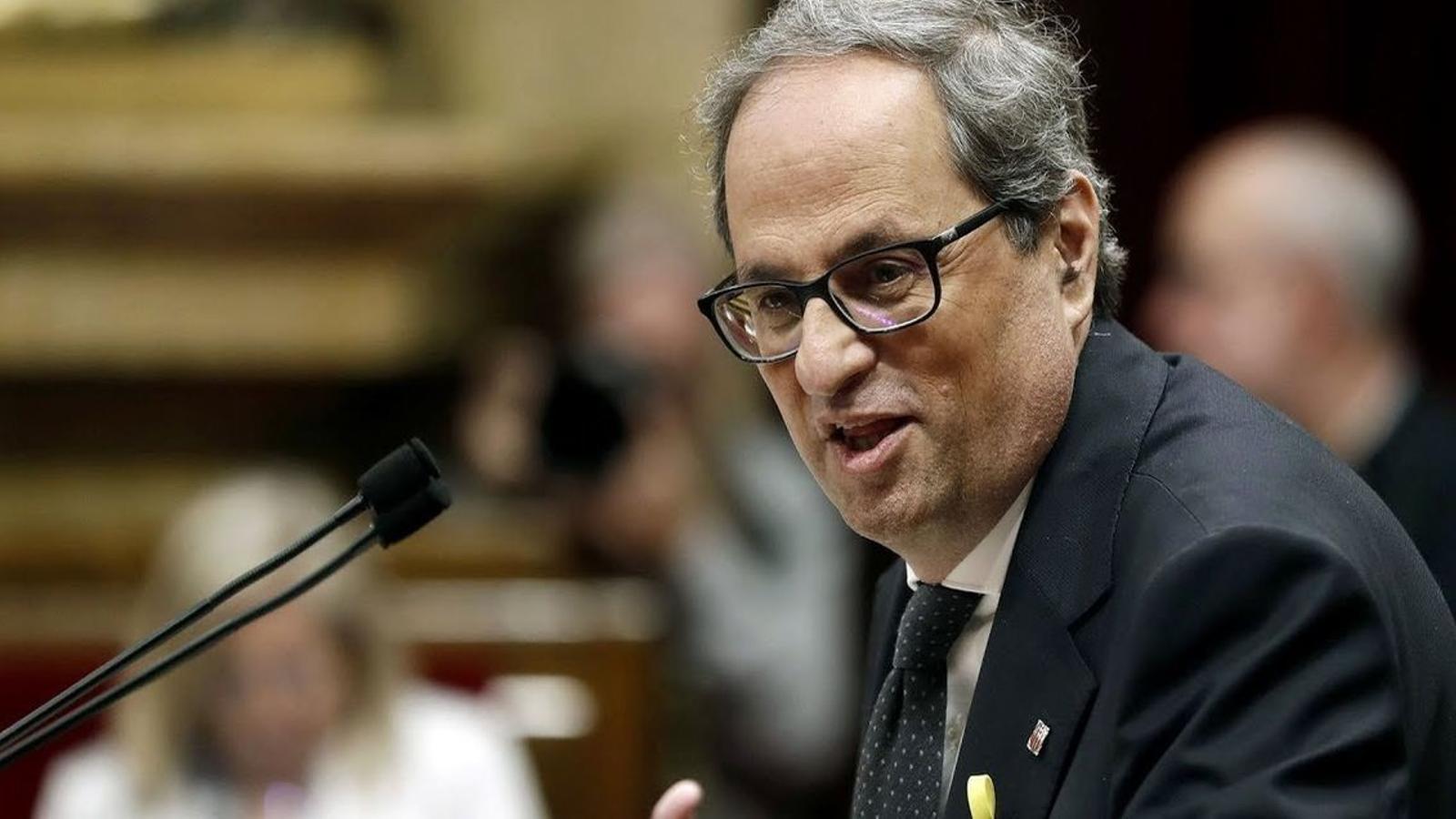 Torra insisteix en mantenir obert el diàleg amb el govern espanyol