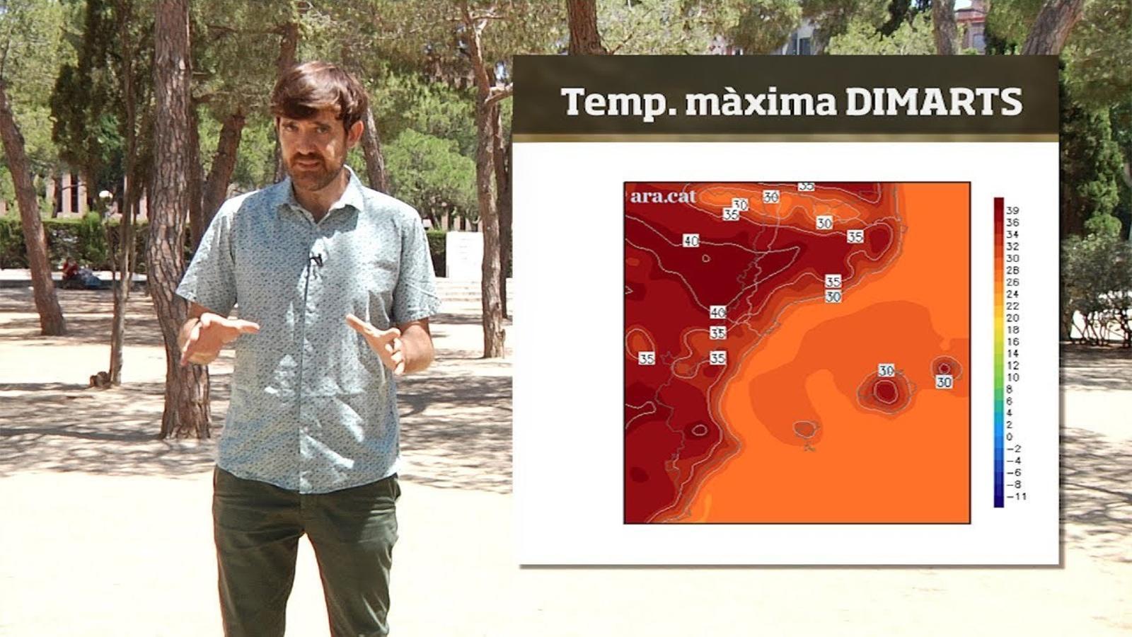 Méteo especial: una onada de calor marcarà la setmana que ve