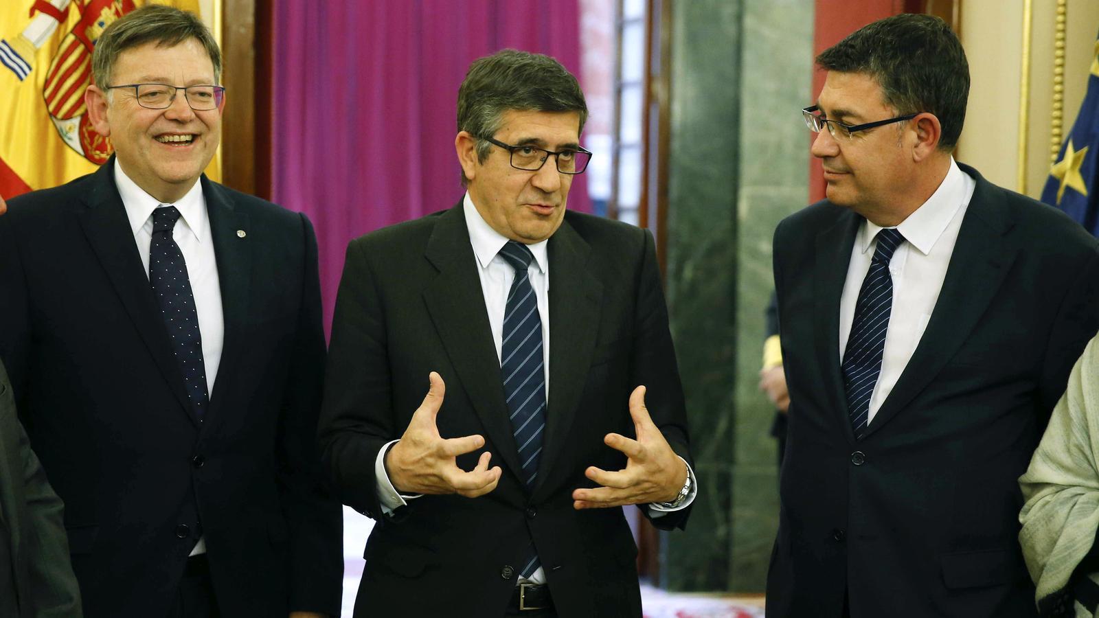 Puig diu que s'assumiran responsabilitats si es confirma el presumpte finançament il·legal del PSPV i el Bloc el 2007
