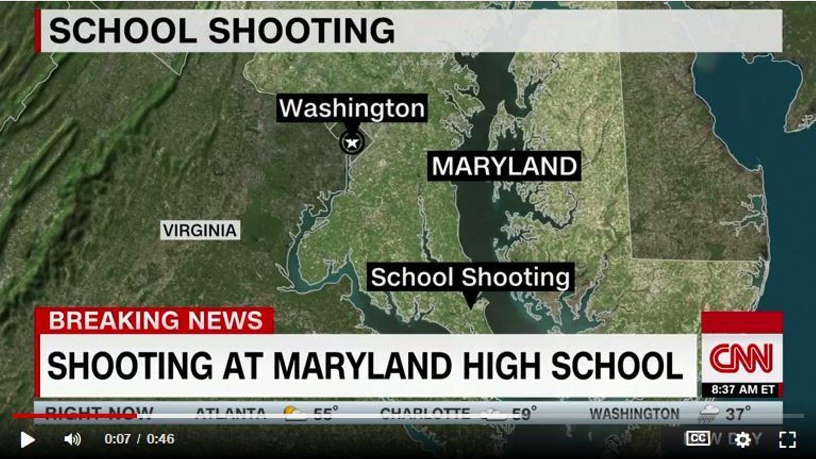 Nou tiroteig en un centre escolar dels Estats Units