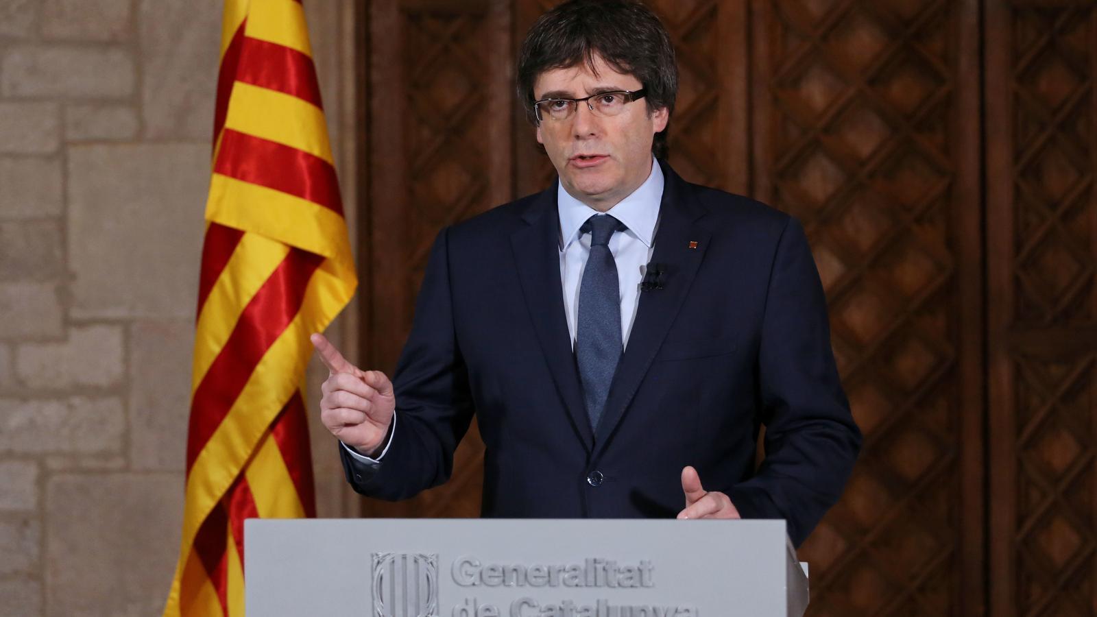 EN DIRECTE: Puigdemont i Junqueras anuncien els canvis al Govern per blindar l'1-O