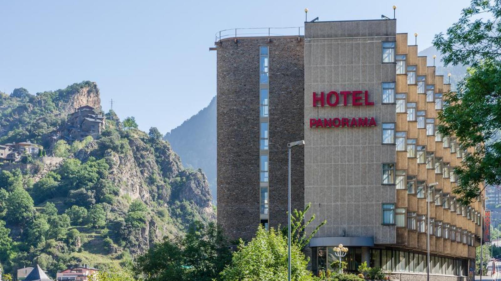 La façana d'un conegut hotel escaldenc. / ARXIU