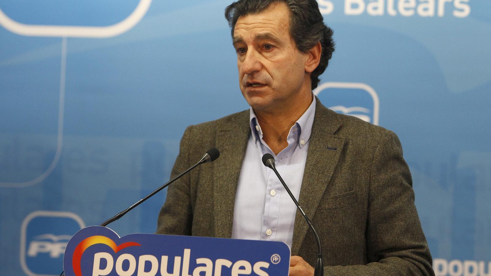 El president del Partit Popular a les Illes Balears, Biel Company