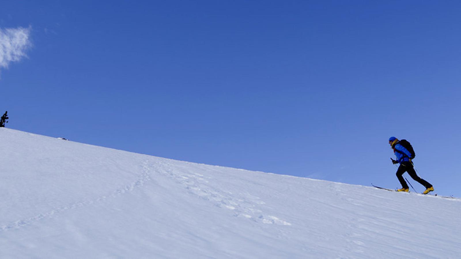 Neu i esquiadors: la temporada  de l'optimisme