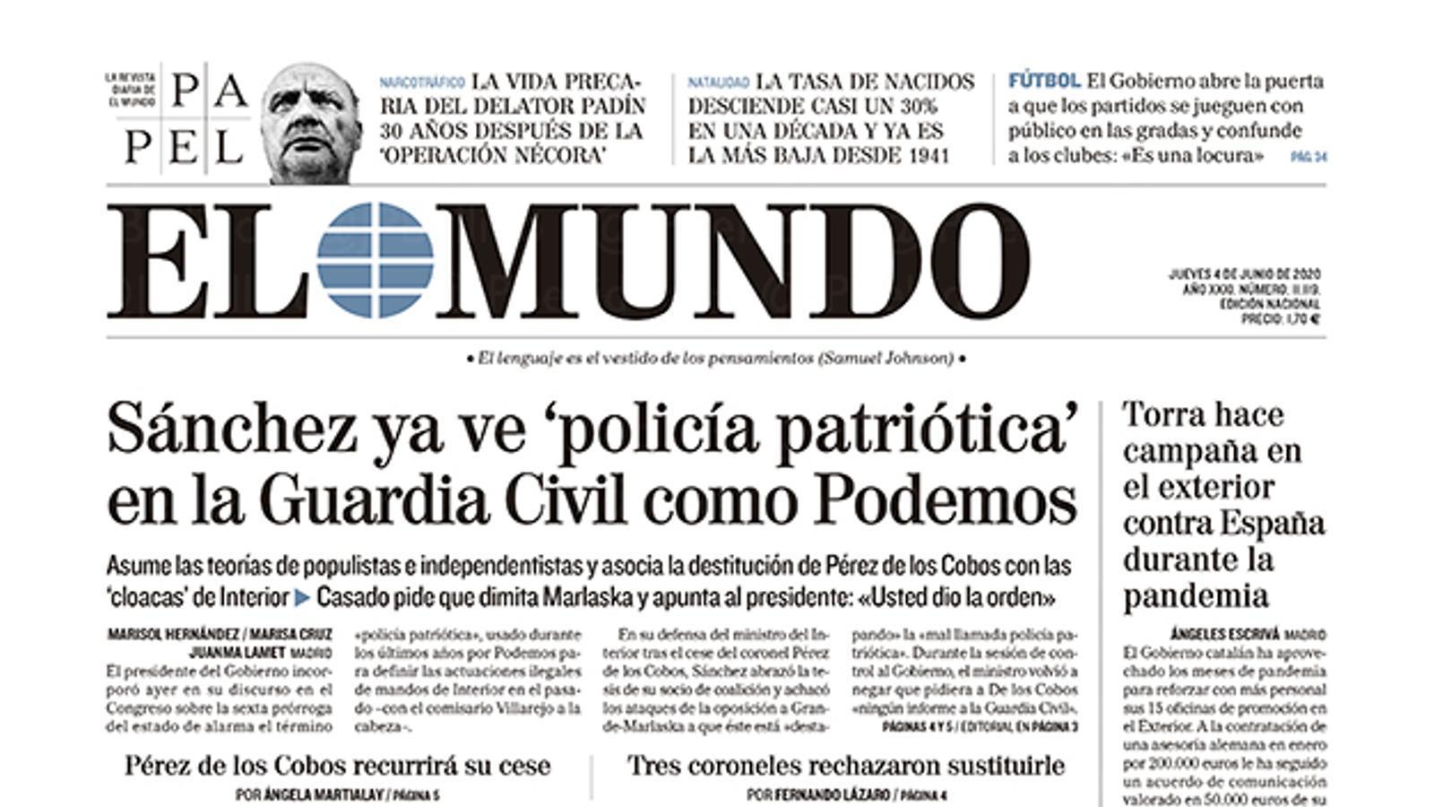 4/6/2020 El Mundo