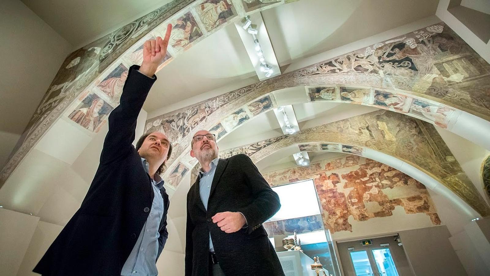 El litigi de les obres d'art de Sixena, des de Catalunya i des de l'Aragó
