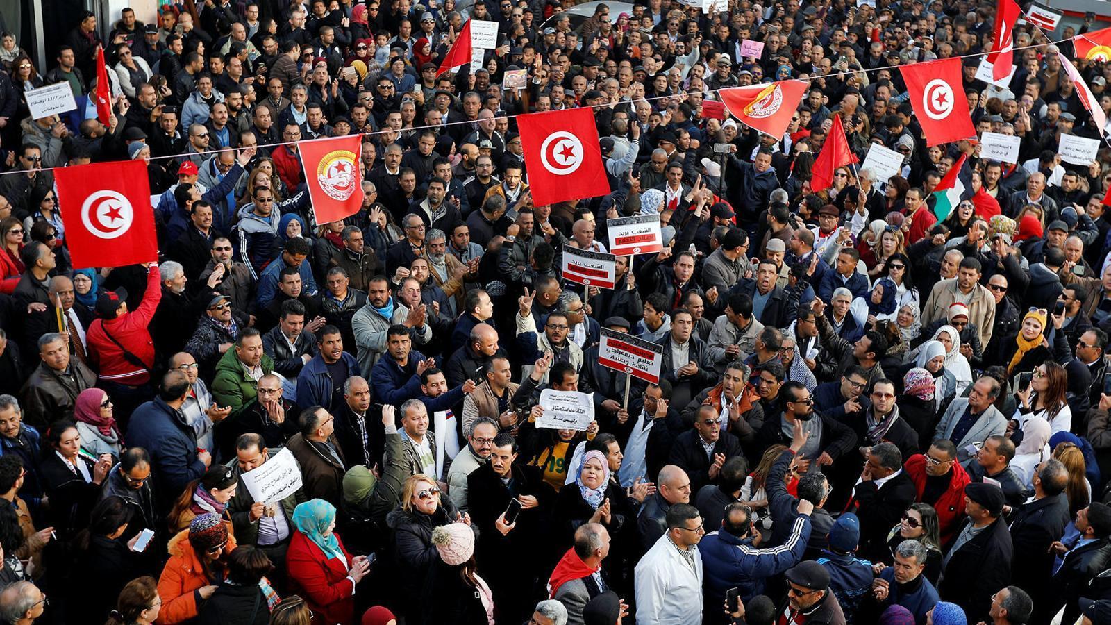 Llums i ombres dels vuit anys  de la Primavera Tunisiana