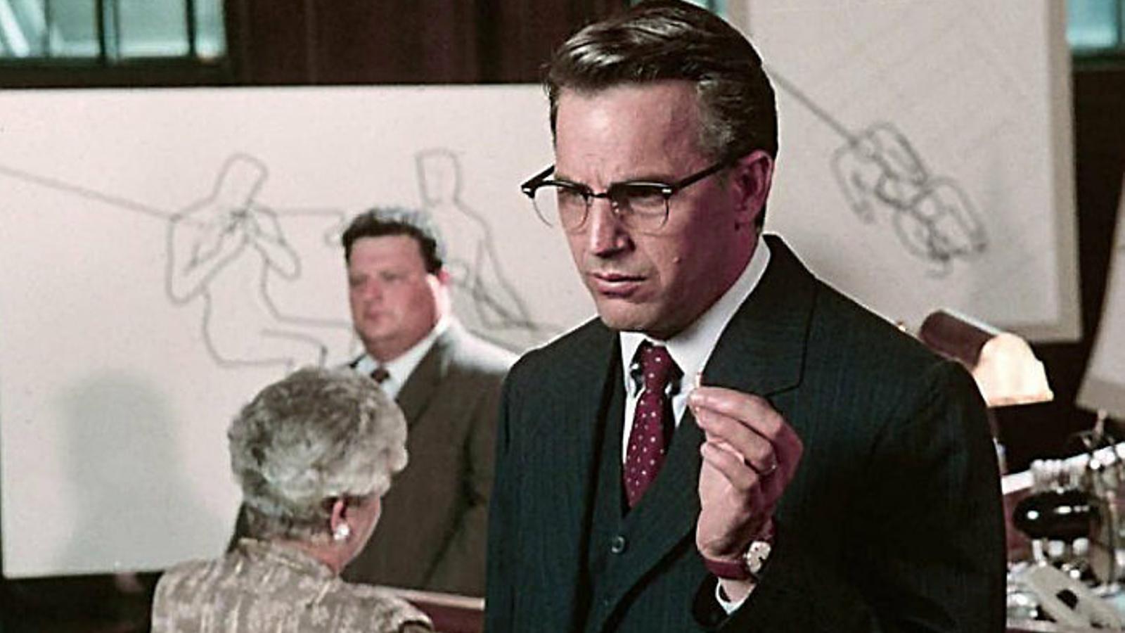 Fotograma de la pel·lícula JFK, dirigida per Oliver Stone.