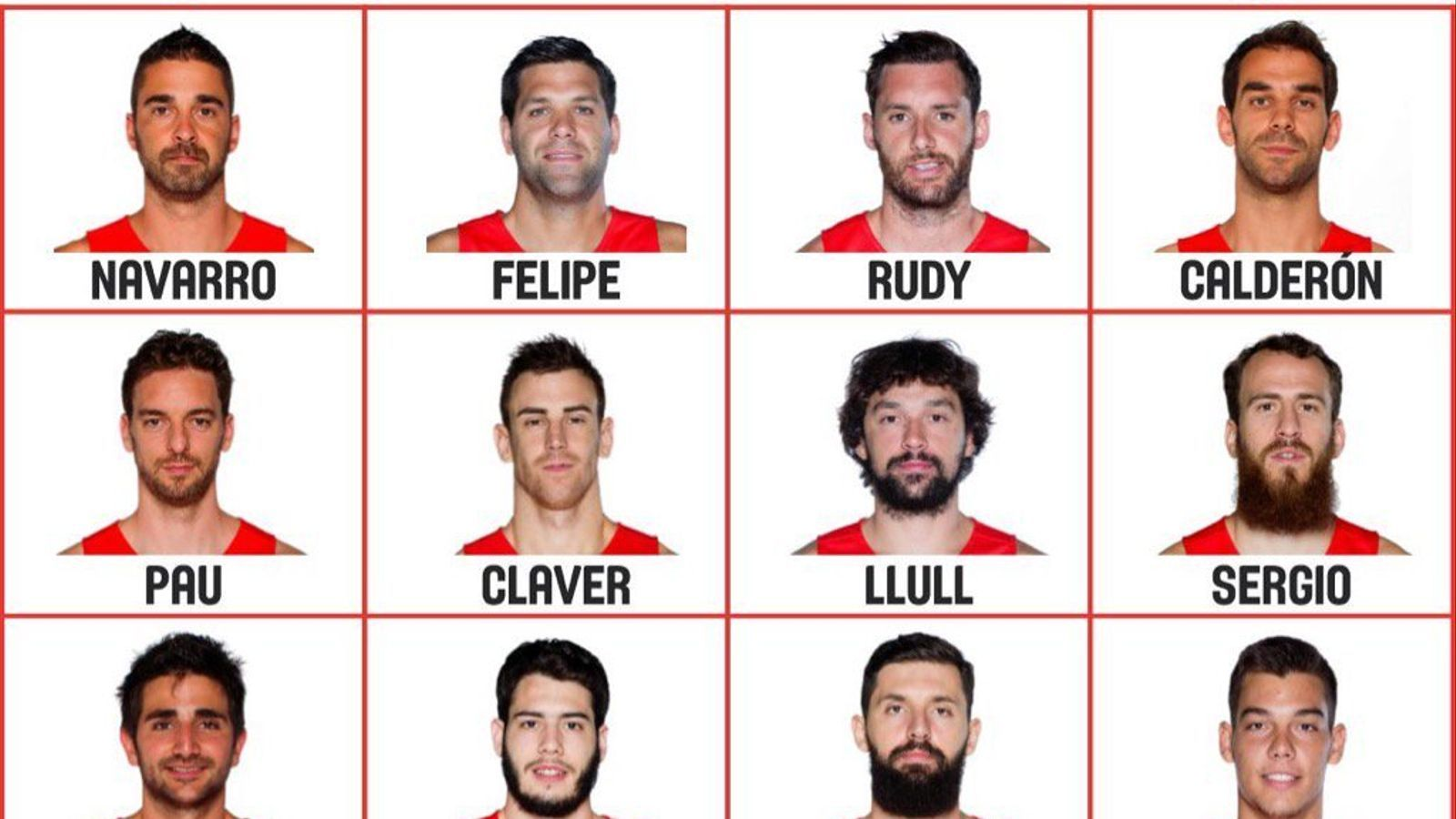 La llista de 12 convocats de la selecció espanyola pels Jocs de Rio