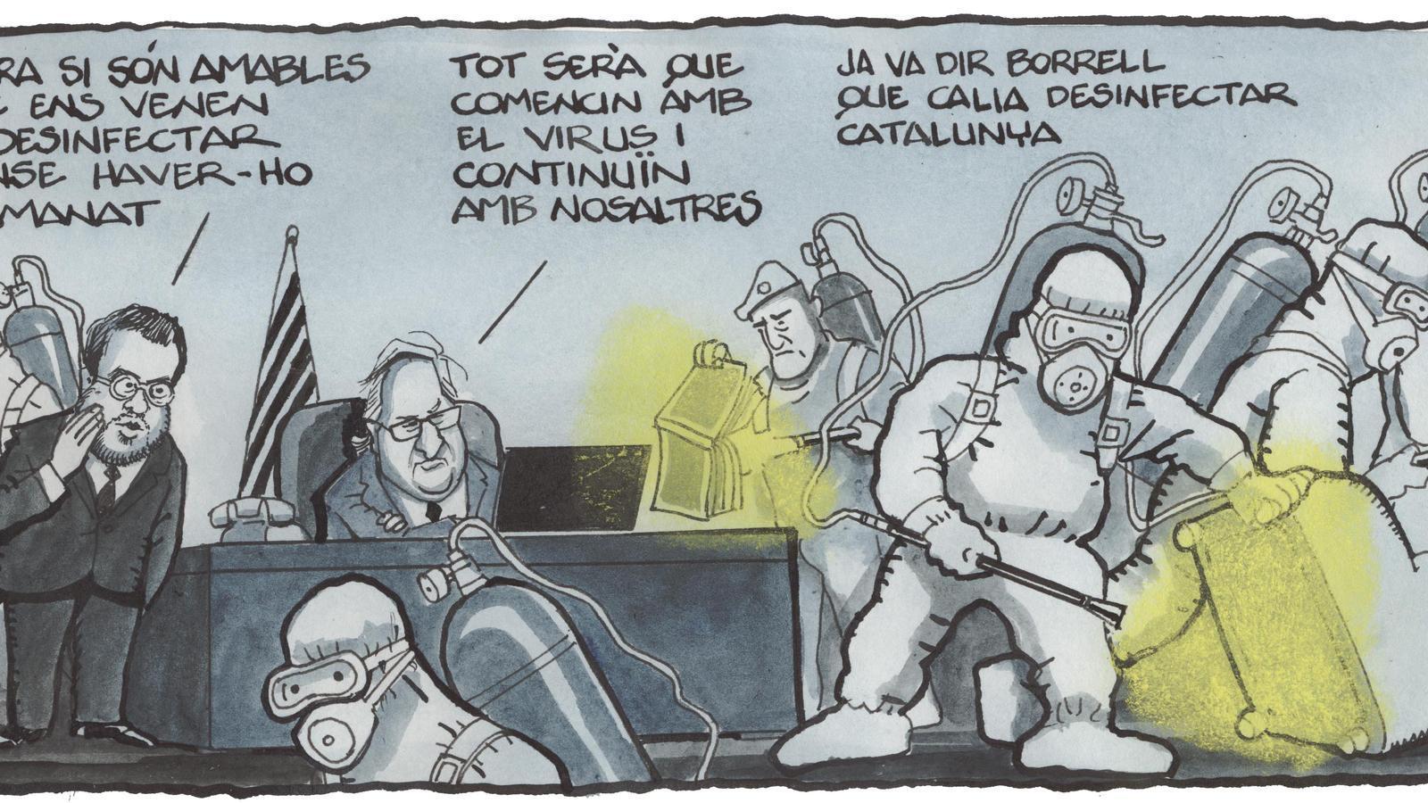 'A la contra', per Ferreres 27/03/2020