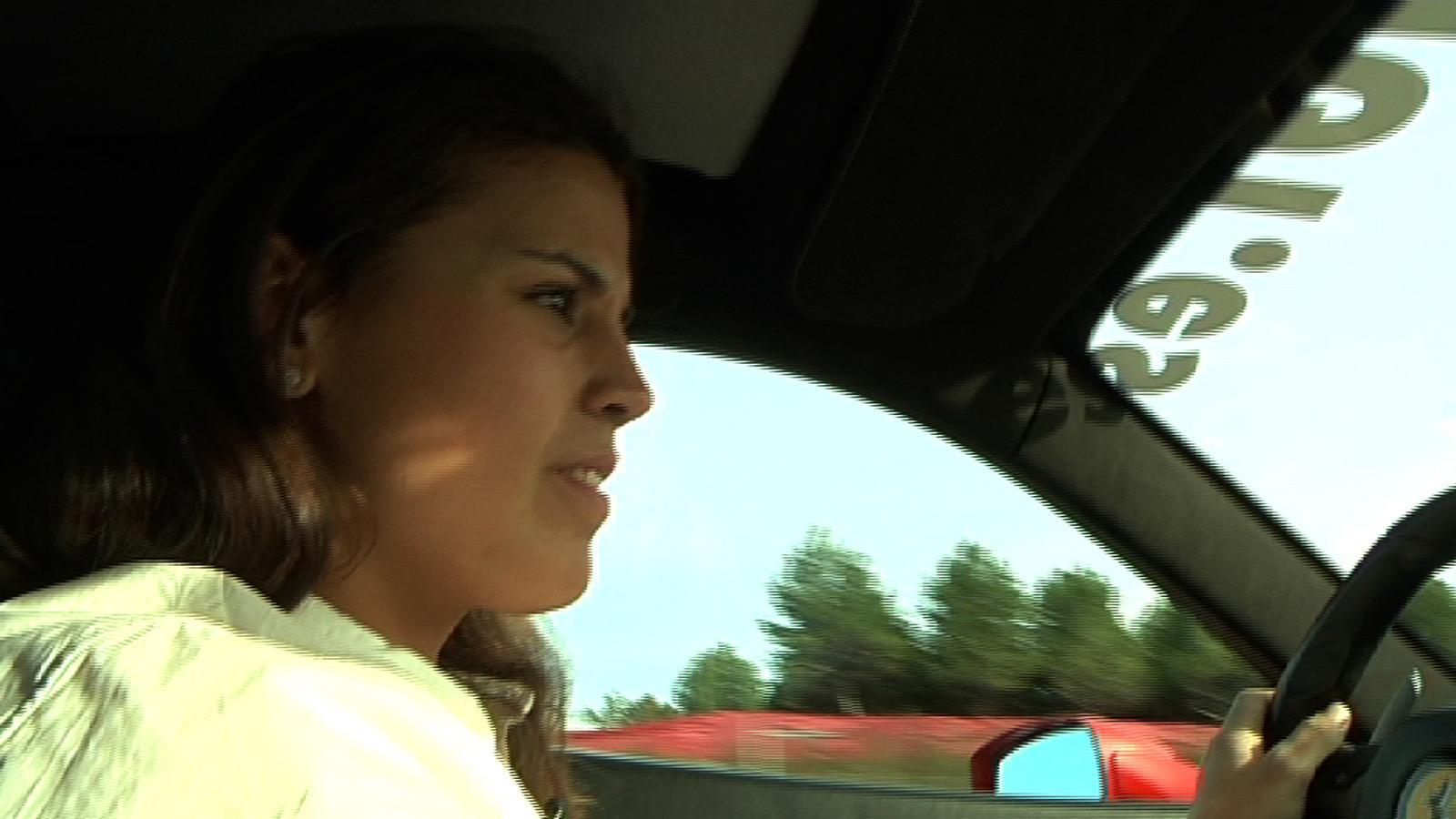 Laia Sanz: Aquest Ferrari corre tant... que costa molt de frenar!