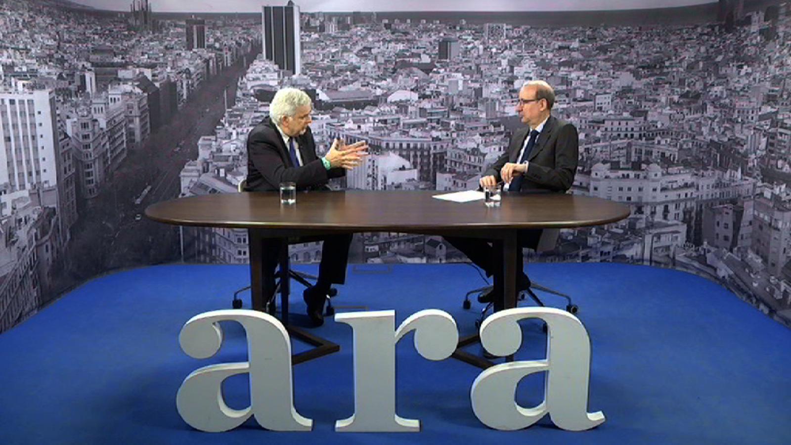Entrevista d'Antoni Bassas a Simon Dolan