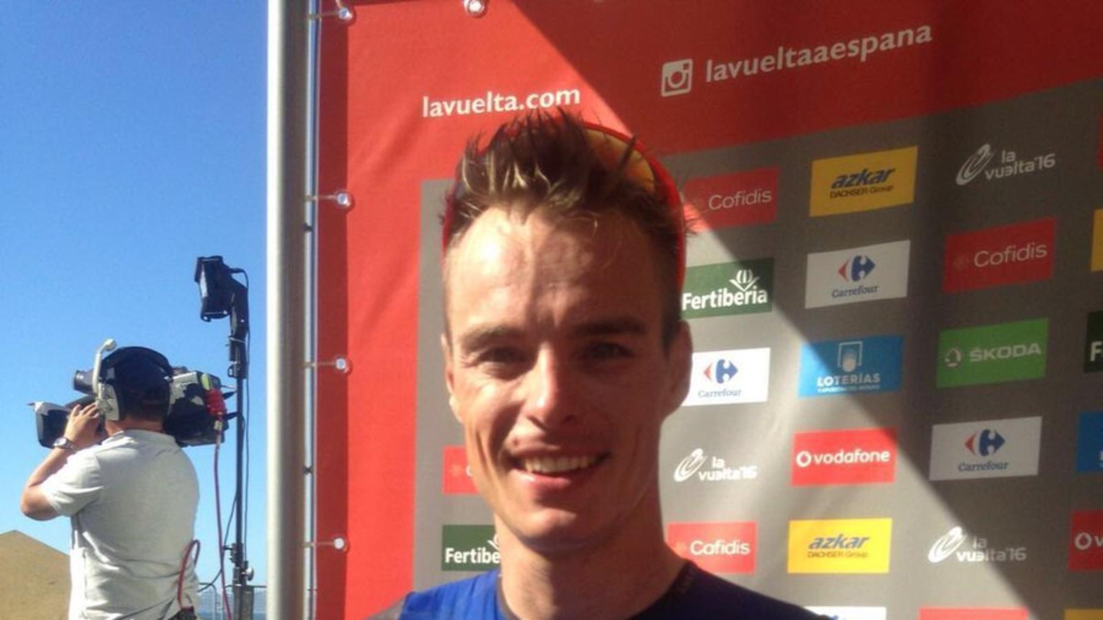 Meersman ha estat el més ràpid en la segona etapa de la Vuelta