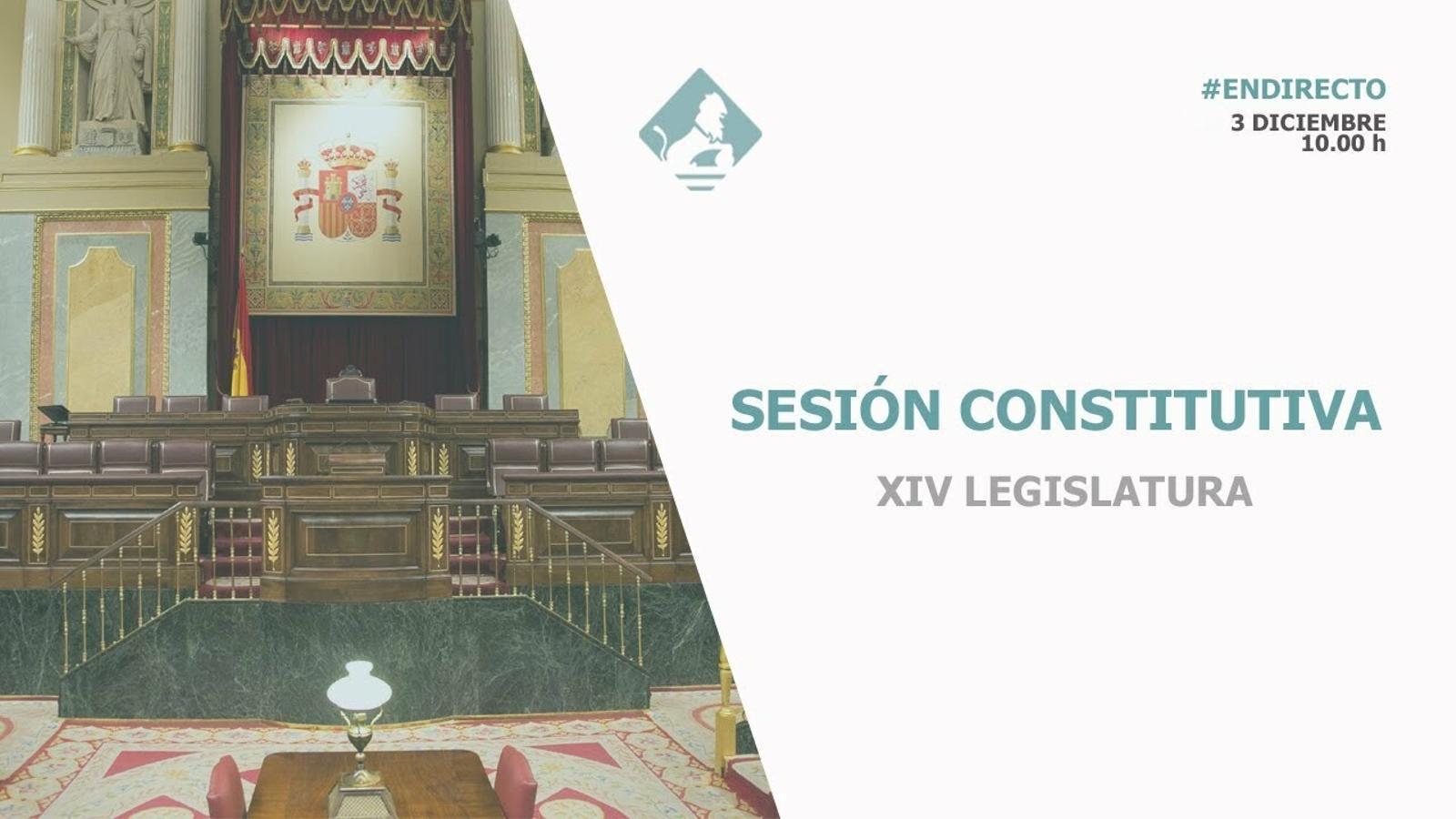 EN DIRECTE: La sessió constitutiva del Congrés