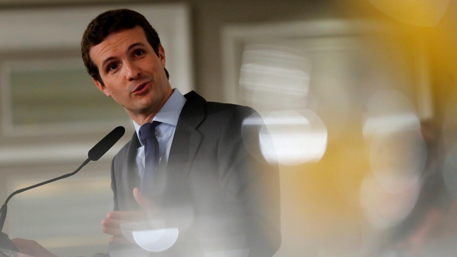 Casado no descarta que Vox tingui conselleries al govern andalús